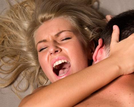 Wanita Sedang Orgasme